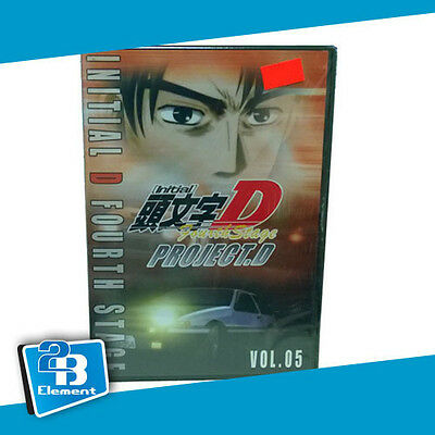 Initial D 4th Stage Project D Vol 5 Chapter 9 -10 DVD Drifting FREE SHIP