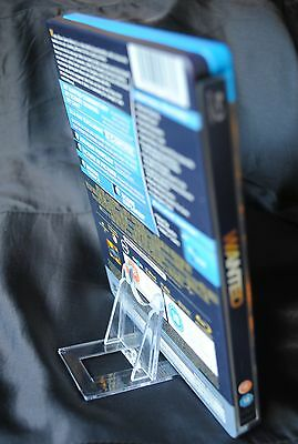 Blu Ray Steel Book / DVD / Compact Disc CD Clear Plastic Display Stand
