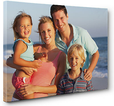 Your Own Custom Personalized Photo Picture Canvas Wall Art 12x8 inches A4