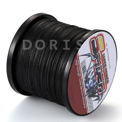 Power Spider 100M-2000M Black 6LB-300LB Strong Dyneema Braid Sea Fishing Line