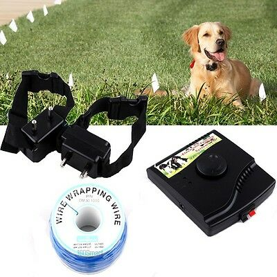 In-Ground Waterproof 2 Shock Collars Dog PET Electronic Fence Containment System