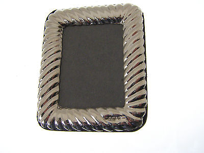 Hallmarked Sterling Silver Portrait Size Photo Frame.  ***on Special Offer***