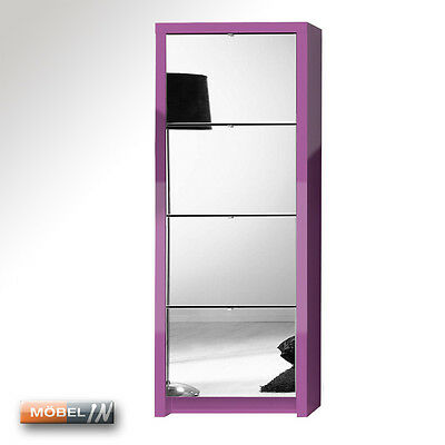 schuhschrank garderobe regal schrank ablage esche muddy hg 4 klappen. Black Bedroom Furniture Sets. Home Design Ideas