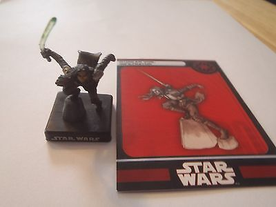 Star Wars Miniatures Quinlan Vos Infiltrator #1 Very Rare Alliance And Empire
