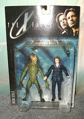 The X Files Scully & Alien 2 Pack-Factory Sealed