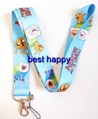 Lot 10 Pcs Blue cartoon Neck mobile Phone lanyard Keychain straps charms Gifts