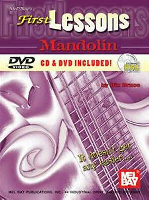 First Lessons Mandolin (Book/CD/DVD Set)  CLOSE OUT PRICED