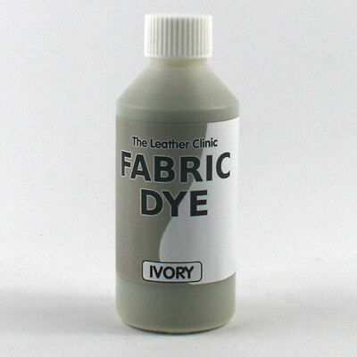 IVORY Liquid Fabric Dye for Sofa, Clothes, Denim, Shoes & Upholstery. Re-colours