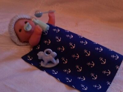 5 inch Berenguer  Doll Clothes / Miniature Reborn Doll (doll not included)