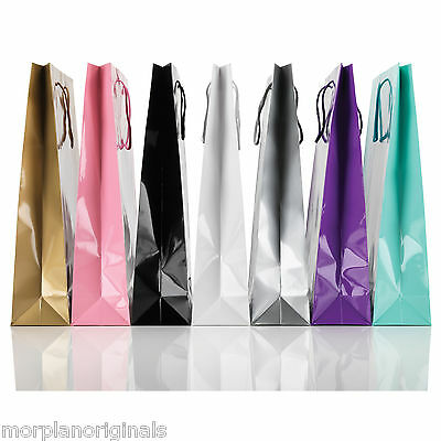 Box Of 25/50 Glossy Paper Gift/Party/Carrier Bags