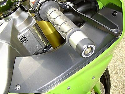 Kawasaki ZX6-R C1H 2005 R&G Bar End Sliders