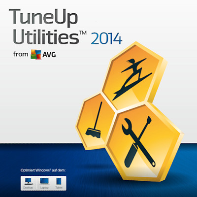 TuneUp Utilities 2014 (Original Vollversion Lizenz für 3 PC)