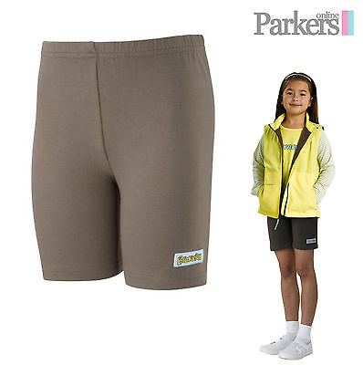 "New Girls Brownie Official Uniform Cycle Shorts Brownies Girl Guides 24"" - 36"""