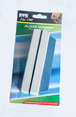 PPI Algae Aquarium Glass Cleaning Magnet Fish Tank Cleaner Large or Small