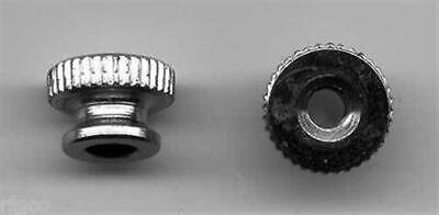6/32 KNURL BINDING POST NUTS for AMERICAN FLYER S Gauge Scale TRAINS ACCESSORIES