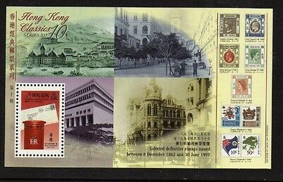 Hong Kong 1997 History of Hong Kong Post Office MS 20 Sheets UM