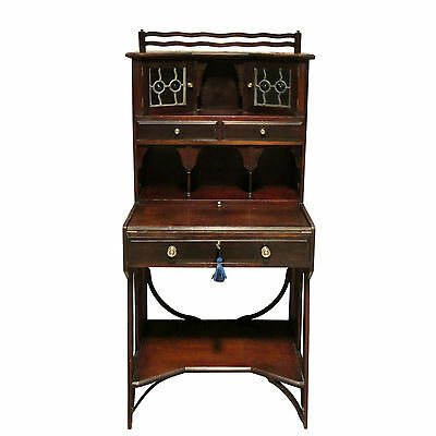 Antique Art & Crafts Liberty's Mahogany Writing Desk *UK Delivery £95
