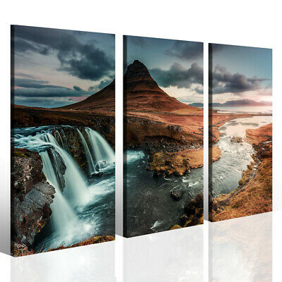 Quadri moderni su tela canvas SPUME WATERFALLS VOL I stampe canvas 130x90