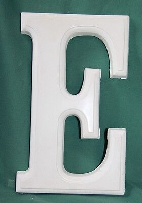 Large Letter 'E' Mould (25.5cms high) - Perfect for Palster Craft