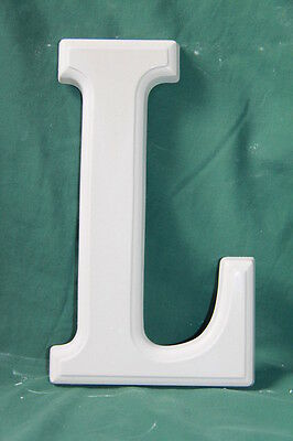 Large Letter 'L' Mould (25.5cms high) - Perfect for Plaster Craft