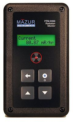 Geiger Counter - Mazur Instruments Prm-8000 + Data Cable  State Of The Art Unit!