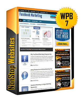 Facebook Marketing Turnkey Website For Sale Ready To Run Online Business