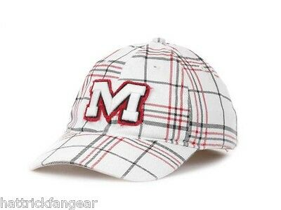 more photos 28483 41339 Ole Miss Rebels  47 Brand NCAA Interchange Plaid Stretch Fit Cap Hat OSFM