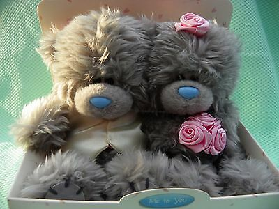 Me To You peluches oursons couple 12 cm *-* MARIES *-* Tatty Teddy
