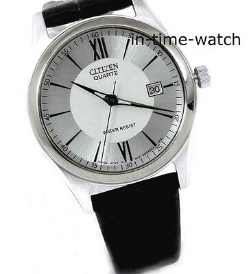 CITIZEN  QUARTZ JAPAN  LEATHER LADY EU2537-05A WR NEW AUTHENTIC FROM US SELLER