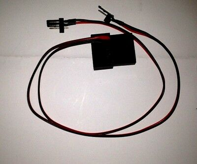 4-Pin Molex Pass-Through to Two (2) 3-pin Male  Computer Fan Connectors
