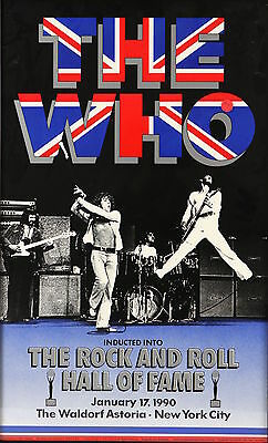 0256 Vintage Music Poster Art - The Who