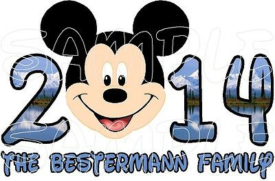 Personalized Disney Mickey Minnie Mouse Alaskan Cruise Stateroom Door Magnet