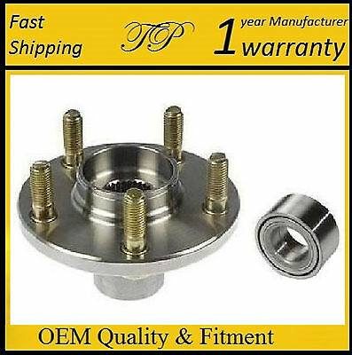 FRONT WHEEL HUB /& BEARING FOR MAZDA 3,5 2005-2011 WITH ABS SINGLE FAST SHIPPING