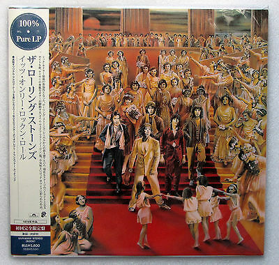 Rolling Stones , It's Only Rock 'n' Roll  ( LP_100% Pure LP_Japan )