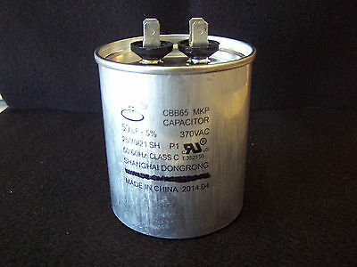 Aftermarket Replacement for GS-0104 50uF 370 VAC Capacitor for Generator GS0104