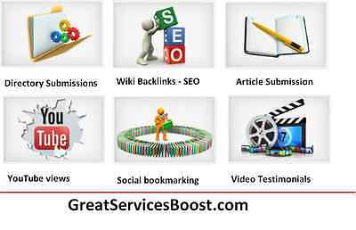Link Building SEO and Web Directories Submission  - improve SEO