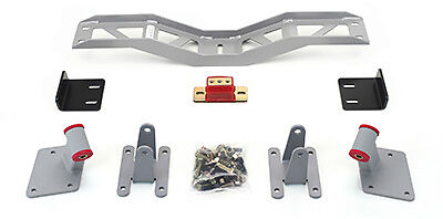 1955-57 Chevy LS Engine Swap - Mount and Crossmember kit - 4L60E trans