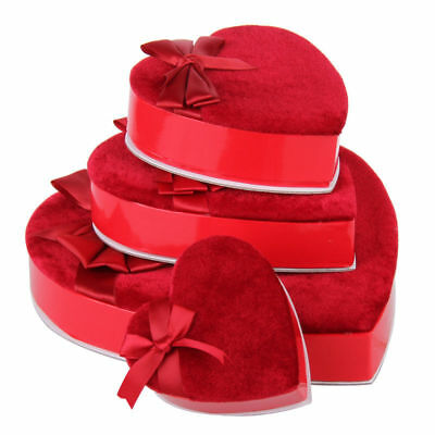 RED Heart Shaped Wedding Favour Candy Sweets Chocolate Party Valentine  Gift