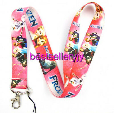 10Pcs Cartoon Princes Neck mobile Phone lanyard Keychain straps charms Gifts P88