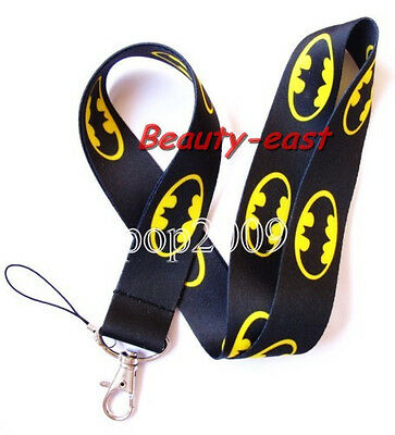 Wholesale Disney batman neck mobile Phone lanyard Keychain straps charms Gifts