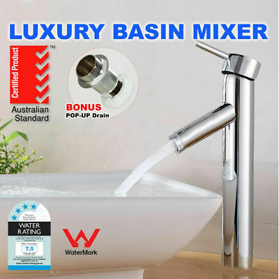 Pull Out Faucet Kitchen Sink Basin Mixer Swivel Spout Hose Tap watermark WELS