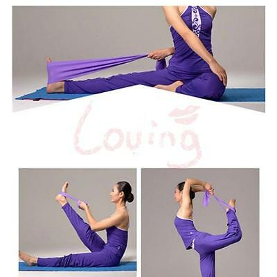 Yoga Pilates Rubber Stretch Resistance Exercise Fitness 1.2 m * 12 lbs Size Band