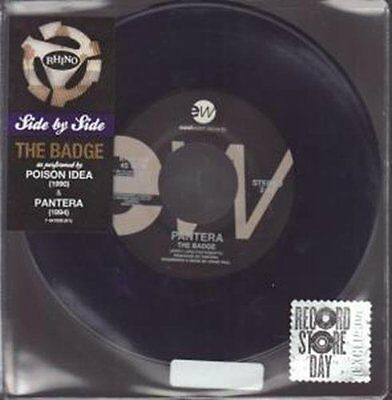 Pantera & Poison - The Badge Record Store Day 2014 - Limited Edition 45 giri