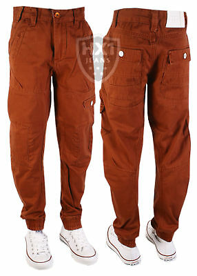 Kids ETO EB270 Brick Chino Jeans, Available in sizes 24-29