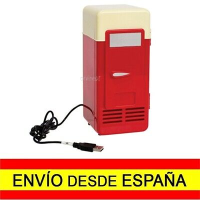 Mini Nevera USB Rojo Gadget a859