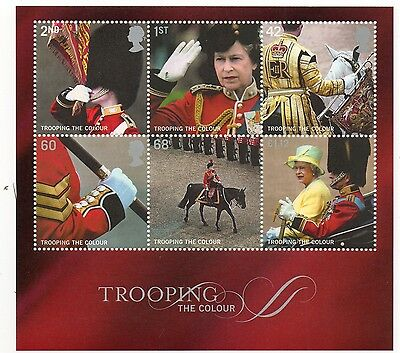 GB 2005 Trooping the Colour unmounted mint mini / miniature sheet MNH m/s
