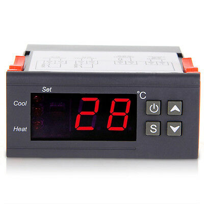 Led Thermostat Temperature Electro Aquarium Terrarium