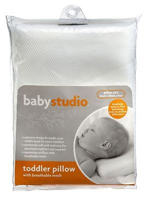 Baby Studio Toddler Pillow with Breathable Mesh
