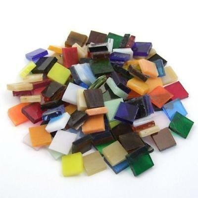 Tiffany Glass Tiles 10mm - Multicolour Mix