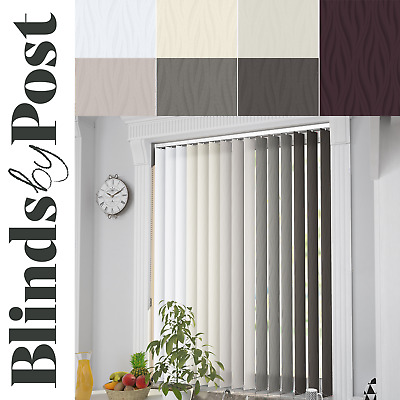 """Made to Measure Complete Vertical Blinds 89mm (3.5"""") LEGACY Design"""